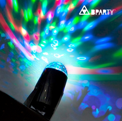 B Party Multifarvet LED Projektor