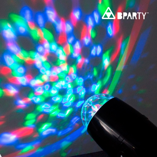 B Party Multifarvet LED Projektor4