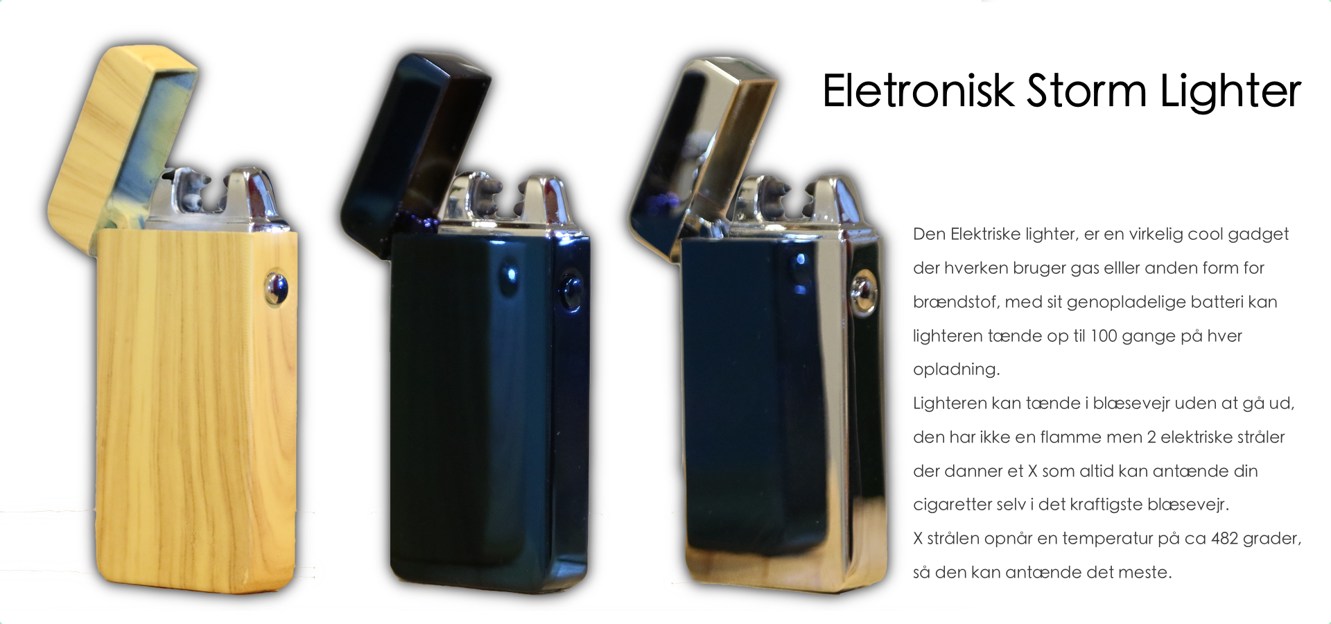 Eletronisk Storm Lighter